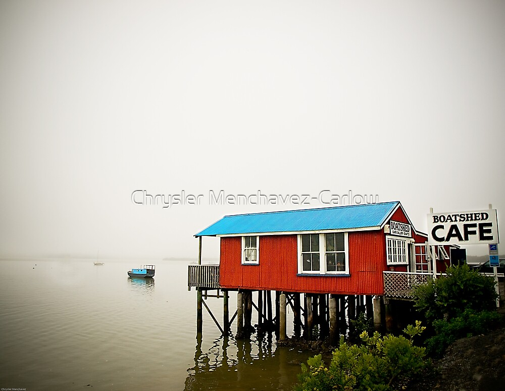 Boatshed Cafe by Chrysler Menchavez-Carlow