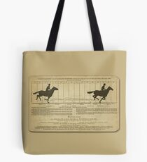 Eadweard Muybridge – 1830-1904 – Animal Locomotion Theory – Horse Poster - Gold Tote Bag