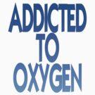 Oxygen blue by Jayson Gaskell