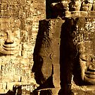 Faces of the Bayon  by Stephen Colquitt
