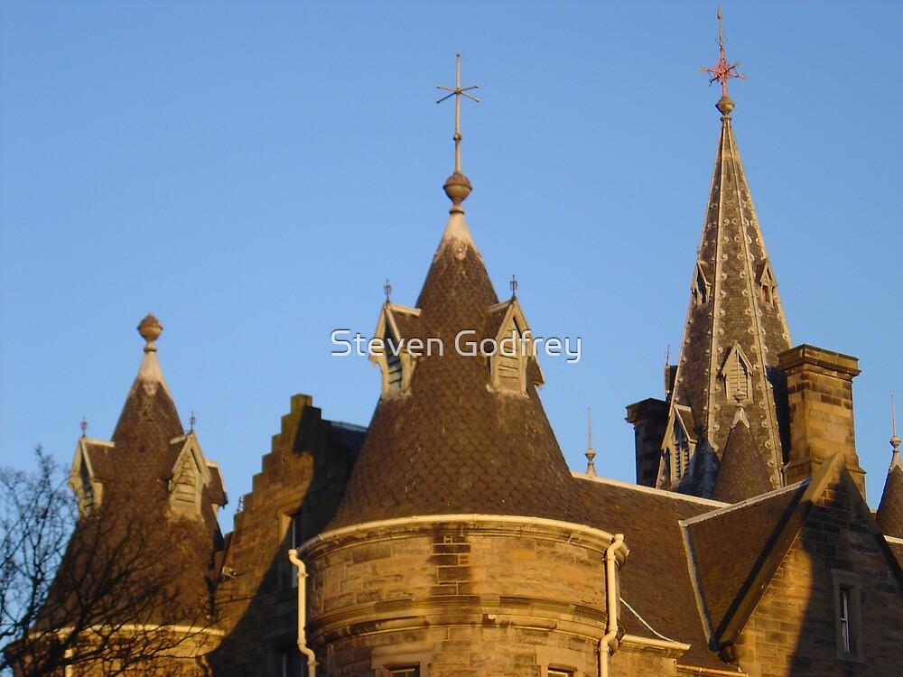Edinburgh Rooftops by Steven Godfrey
