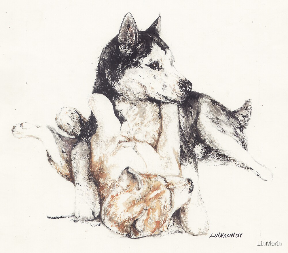 """""""Puppy Love"""" by LinMorin"""