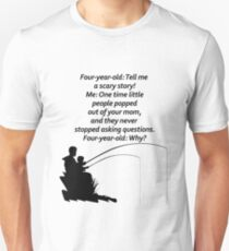 Dad and Son Fishing Design Unisex T-Shirt