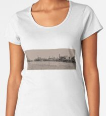 Threshing Women's Premium T-Shirt