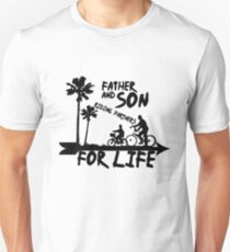 Father Son, Happy Father's Day Unisex T-Shirt