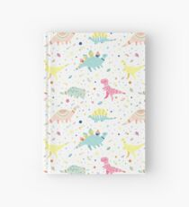 Dinosaur Pattern Hardcover Journal