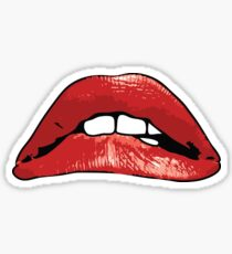 Rocky Horror Picture Show Red Lips Tim Currie Sticker