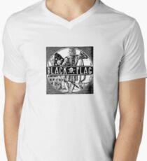 Black Flag Men's V-Neck T-Shirt