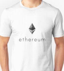 Ethereum Crypto Currency Logo Unisex T-Shirt