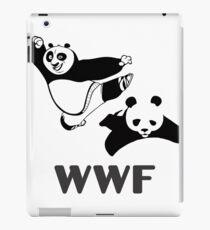WWF KUNGFU PANDA PARODY iPad Case/Skin