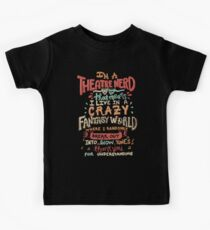 Ich bin ein Theater-Nerd Kinder T-Shirt