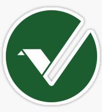 Vertcoin Crypto Währung Sticker