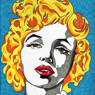 Marilyn Monroe by Eliq