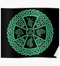Celtic Nature Poster