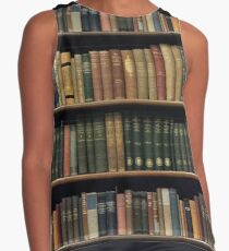 Endless Library (pattern) Contrast Tank