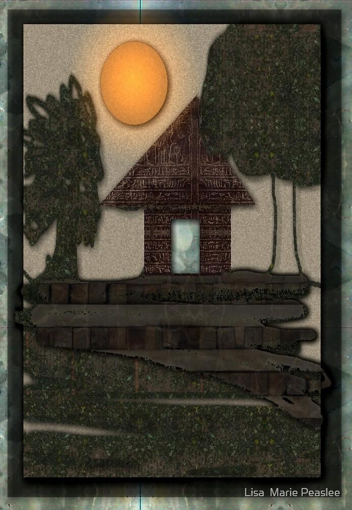 Cottage by Lisa  Marie Peaslee