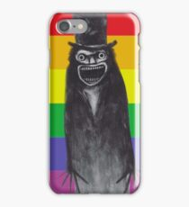 The B stands for Babadook Pride iPhone Case/Skin
