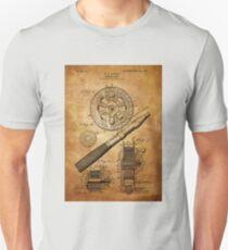 Fishing Reel Patent 1906  Unisex T-Shirt