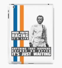 Steve McQueen Le Mans  iPad Case/Skin