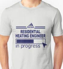 RESIDENTIAL HEATING ENGINEER Unisex T-Shirt