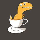 Tea Rex by DinoMike