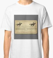 Eadweard Muybridge – 1830-1904 – Animal Locomotion Theory – Horse Poster - Grey Classic T-Shirt