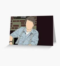 Captain Jack Harkness Greeting Card