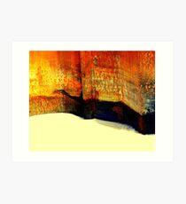 Capturing sand Art Print