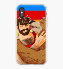 BEAR KISS - GAY PRIDE iPhone Case