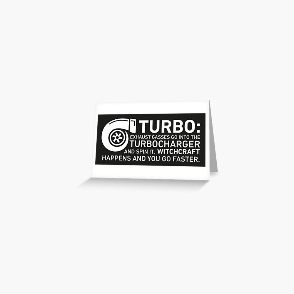 Turbo Witchcraft - Jeremy Clarkson Greeting Card