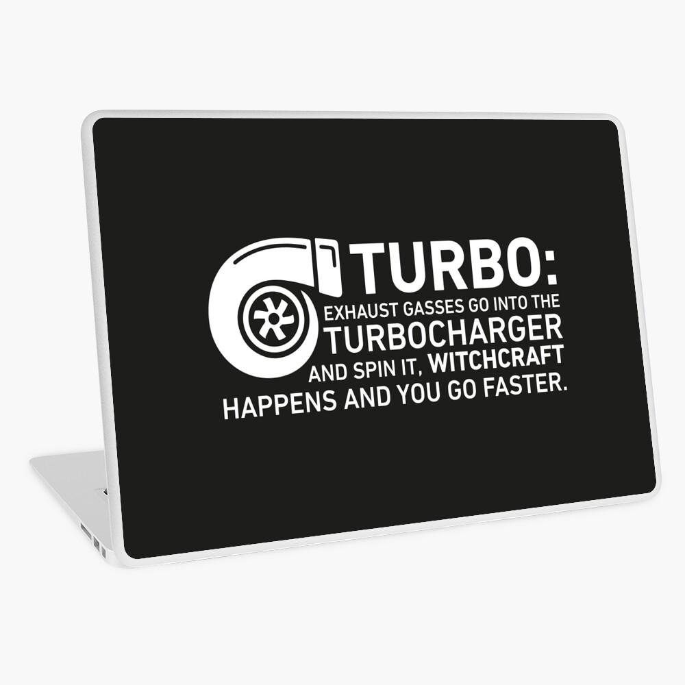 Turbo Witchcraft - Jeremy Clarkson Laptop Skin