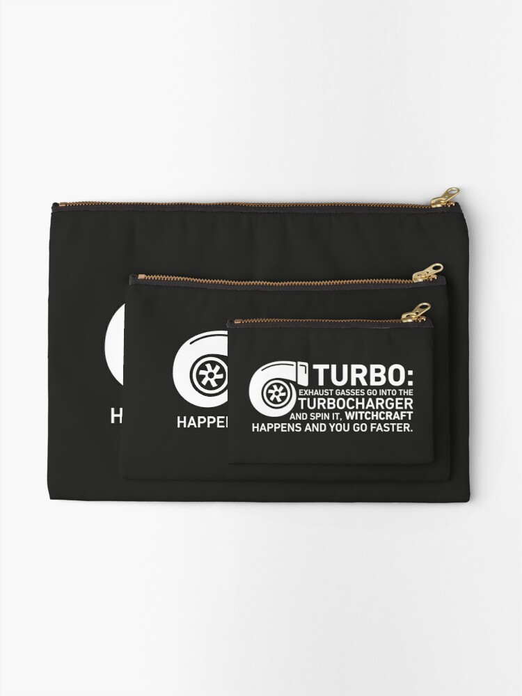 Alternate view of Turbo Witchcraft - Jeremy Clarkson Zipper Pouch