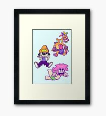 Playstation Boys Framed Print