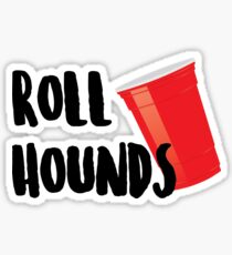 Roll Hounds Sticker