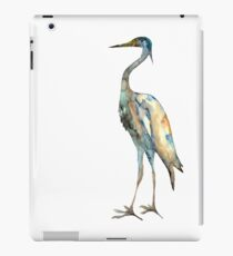 Crane #2 - Bird Ink Painting iPad Case/Skin