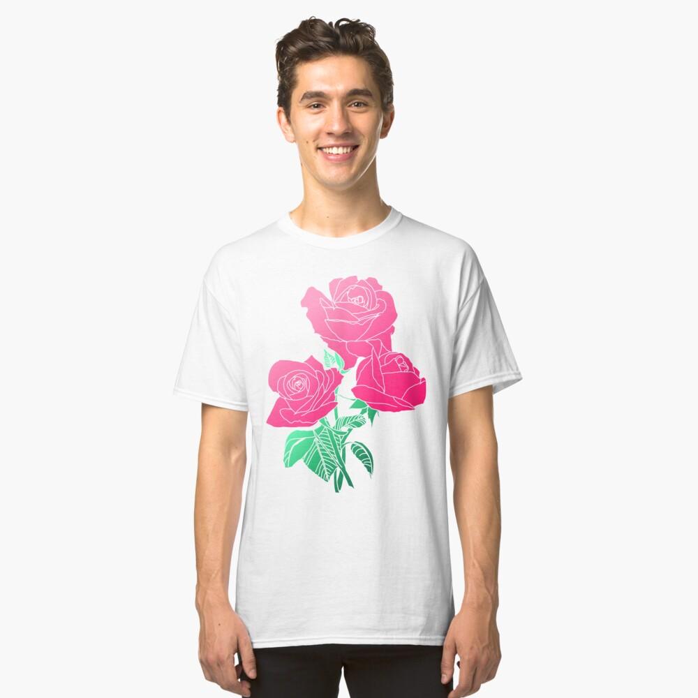 Blumen - rosa Rose Classic T-Shirt