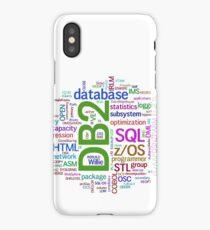 database cloud iPhone Case/Skin