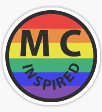 Miley Cyrus - Inspired logo Sticker