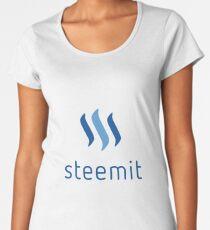 Steemit Crypto Currency Women's Premium T-Shirt