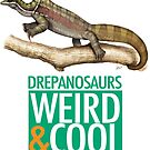 Drepanosaurs are Weird and Cool by SerpenIllus