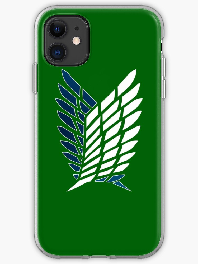 Wings Of Recon Corps iphone case