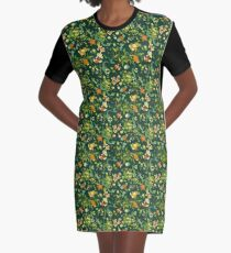 Pokemon chilling in the pond Graphic T-Shirt Dress