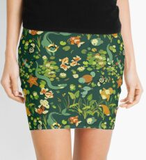 Monsters chilling in the pond Mini Skirt