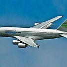 Airbus A380 by Brian Tarr