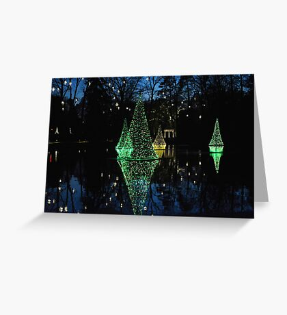 Christmas Reflections Greeting Card