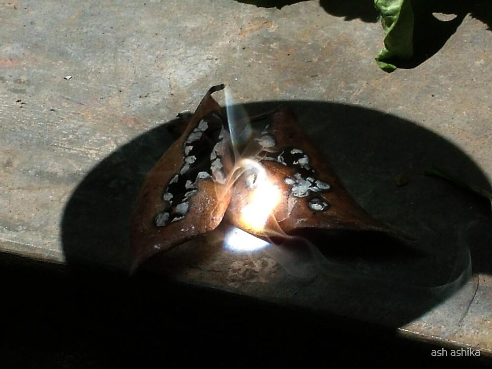 my heart is burning... by ash ashika