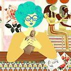 Egyptian Room by TabithaBianca