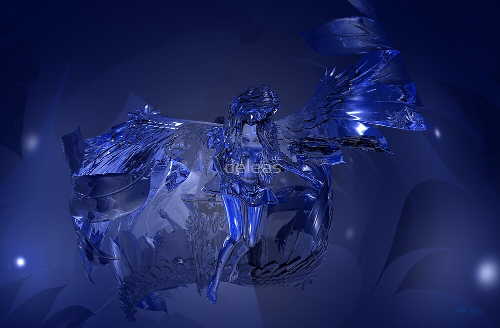 Glass Angel by deleas