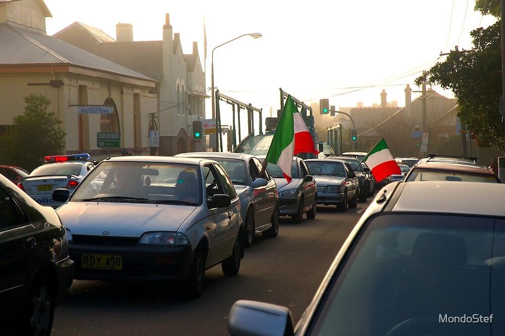 Flag Parade by MondoStef