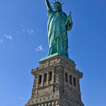 The Statue of Liberty by RHAbstraction